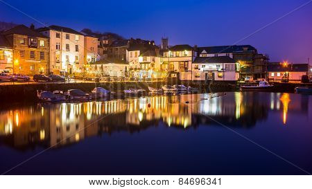 Falmouth Harbour Night