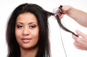 stock photo of hair curlers  - Hairstyling - JPG