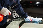 stock photo of car repair shop  - Close - JPG