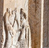 picture of zoroastrianism  - Pesepolis world heritage archeological site Persia Iran - JPG