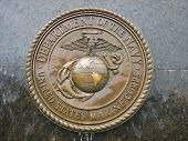 Marines Monument poster