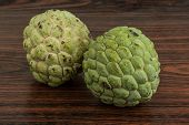 pic of custard  - Asian fruit Custard apple  - JPG