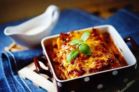 image of basil leaves  - Italian Food - JPG