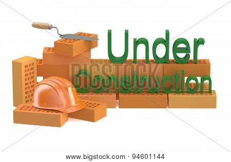 Under Construction And Building Concept