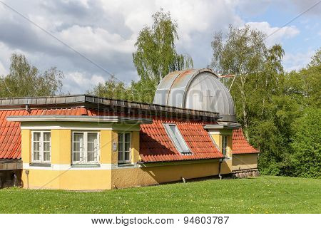 The observatory of Aarhus, Denmark