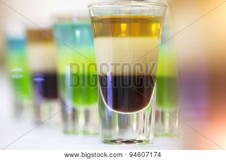 Multicolored Shots