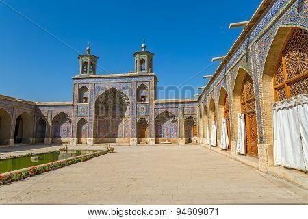 Nasir al-Mulk Mosque inner courtyard