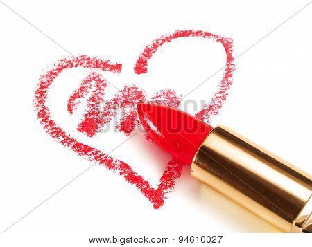 Lipstick Heart
