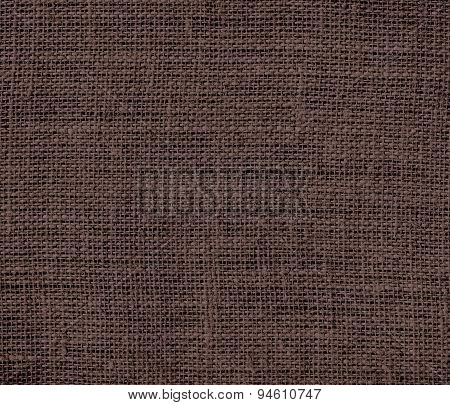 Dark liver (horses) burlap texture background
