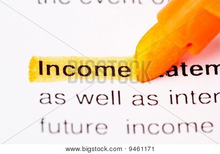 Income word