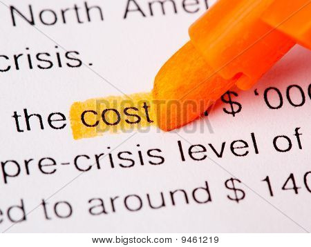 Cost Word