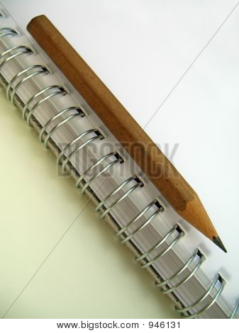Ring Binder And Pencil 2