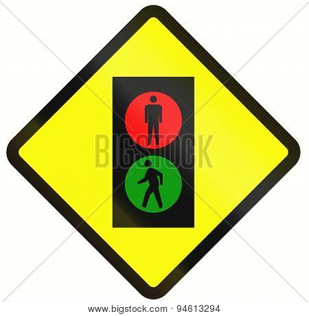 Pedestrian Signal In Indonesia