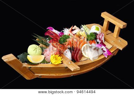 A Boat Of Sushi