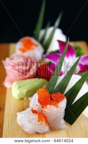 Sushi Of Grouper