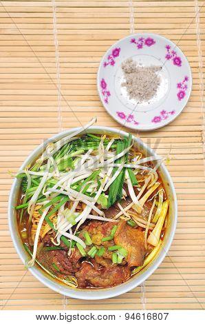 Bo kho or Vietnamese beef soup
