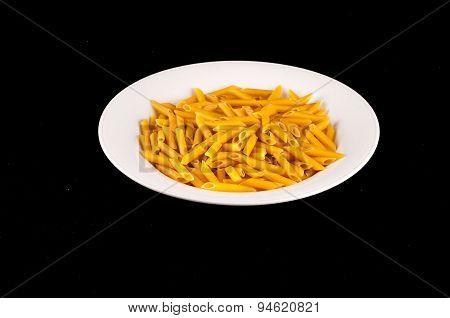 Pasta Texture Background