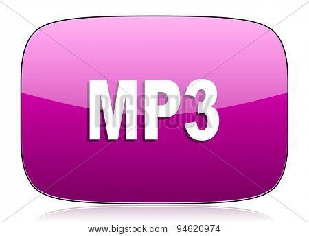 mp3 violet icon