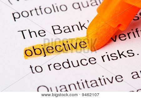 Objective Word