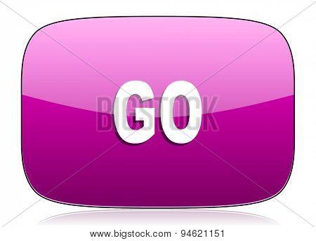 go violet icon