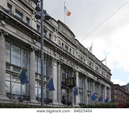 Clerys Clock in Dublin