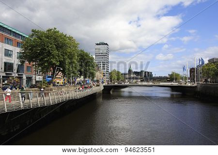 Bridge over the River Liffey