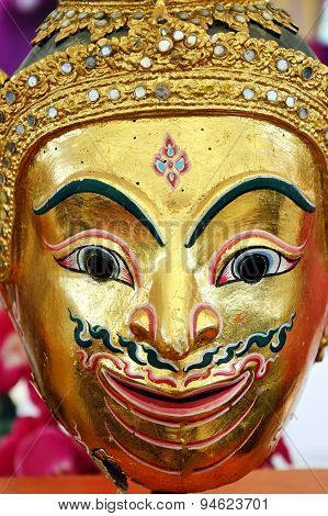 golden mask of Thai literature