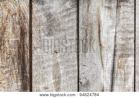 Old Weathered Wood Background Or Texture.