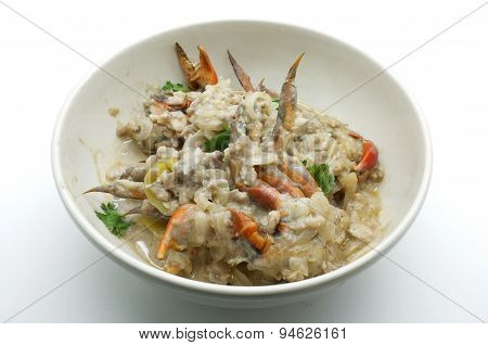 Crab stew, Crap curd dip, Simmer chili crab, thai food