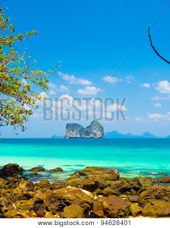 Exotic Getaway Blue Paradise