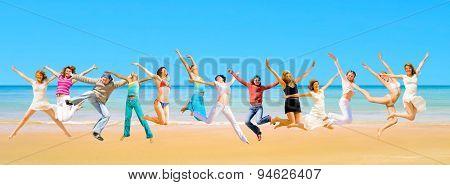 Jumping Wild Pretty Dancers