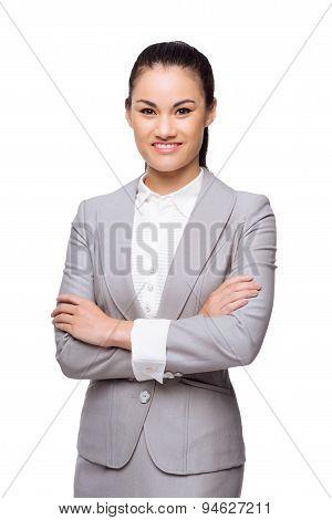 Confident Business Lady