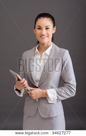 Business Woman With Digital Tablet
