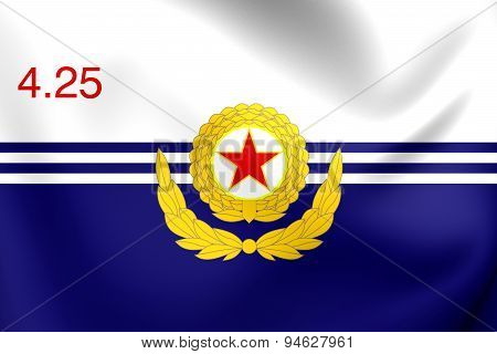 Korean People's Army Naval Force Flag