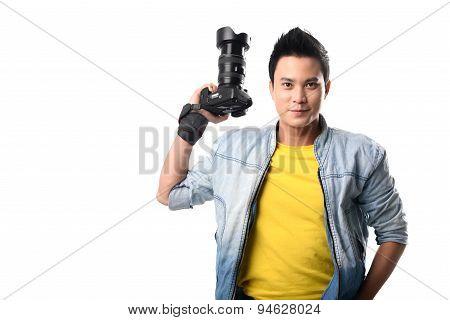 Handsome Vietnamese Photographer