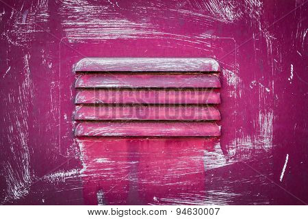 Pink Grate