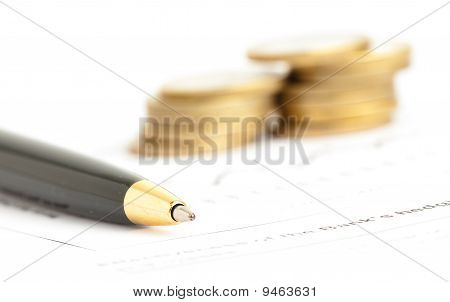 Pen And Coin