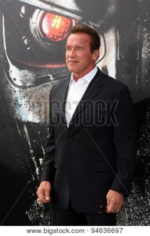 LOS ANGELES - JUN 28:  Arnold Schwarzenegger at the