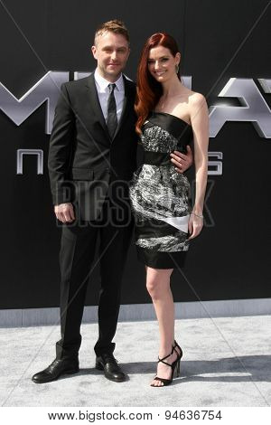 LOS ANGELES - JUN 28:  Chris Hardwick, Lydia Hearst at the