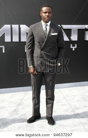 LOS ANGELES - JUN 28:  Dayo Okeniyi at the