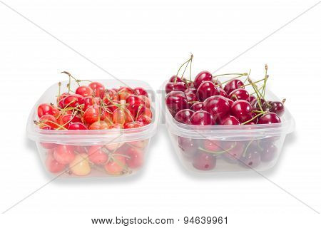 Two Varieties Of Cherries
