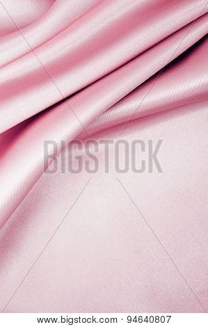 Rose Pink Satin