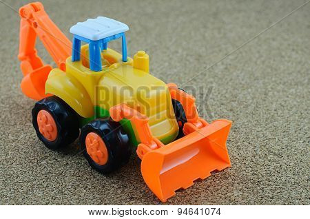 Tractor Backhoe Toy