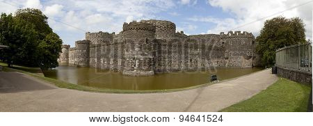 Beaumaris Castle Panorama