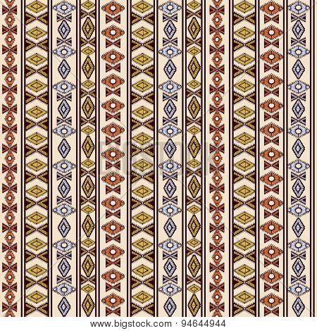 Hand Drawn Ethnic Tribal Pattern