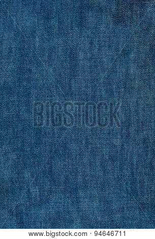 Background Texture Of Blue Jeans
