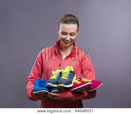 Beautiful young runner