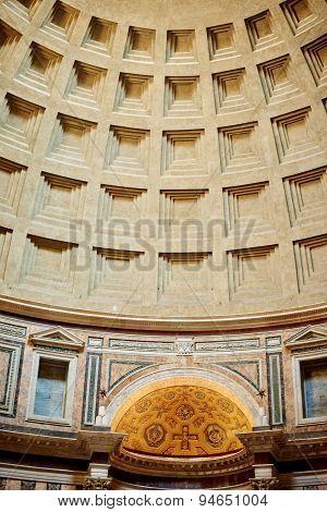 Roman Pantheon's dome