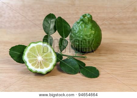 Kaffir lime (Citrus hystrix),citrus fruit