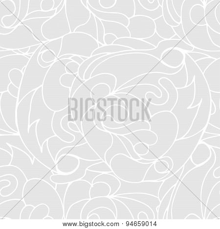 Abstract light gray colors composition
